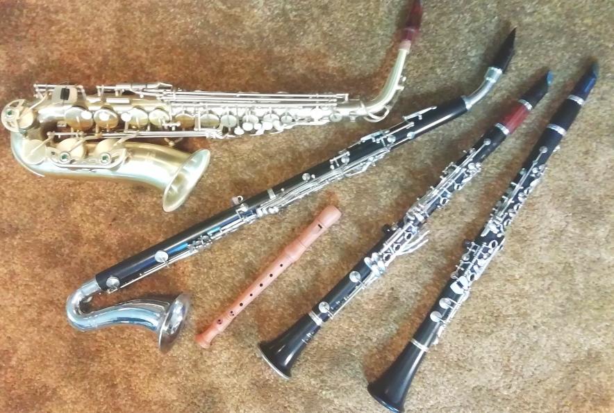 Klarinetten und Flöte